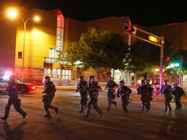 Chaotic Scene Erupts Outside Trump Rally in New Mexico
