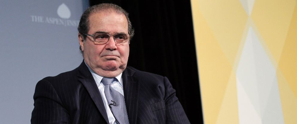 PHOTO: Supreme Court Justice Antonin Scalia participates at the third annual Washington Ideas Forum at the Newseum in Washington, Oct. 6, 2011.