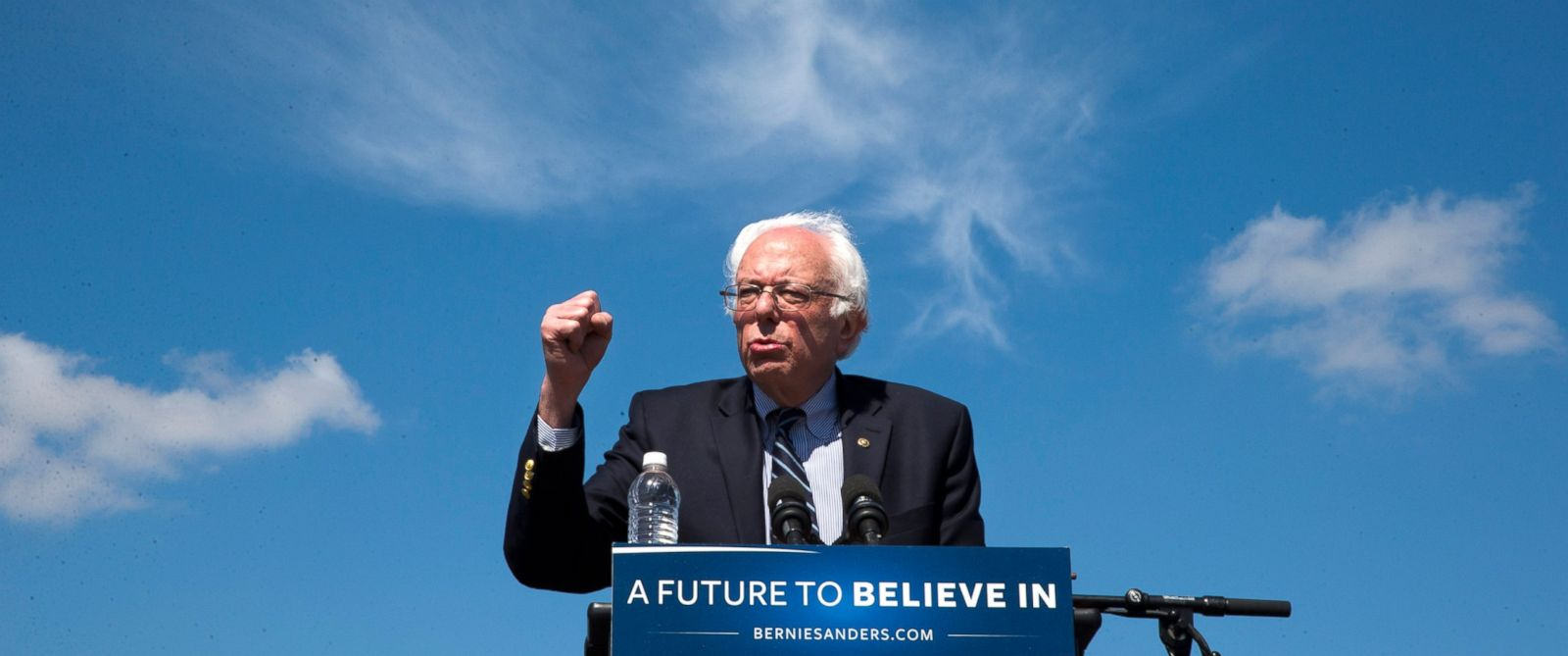 PHOTO: Democratic presidential candidate Sen. Bernie Sanders, I-Vt., speaks during a campaign rally at the Circuit of the Americas in Austin, Texas, Feb. 27, 2016.