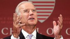 PHOTO: Vice President Joe Biden speaks at Harvard Universitys Kennedy School of Government in Cambridge, Mass.
