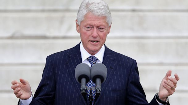 AP bill clinton jef 130830 16x9 608 Bill Clinton Looks to the Past at Fundraiser for Chelseas Mother In Law