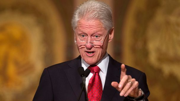AP bill clinton jef 140430 16x9 608 Bill Clinton Accuses Political Press Of Blindness