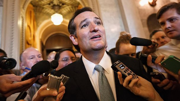 AP budget battle ted cruz lpl 130930 16x9 608 Where Were Todays Key Players During the 1995 Government Shutdown?
