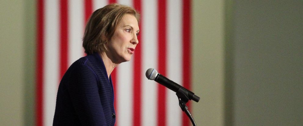 PHOTO: Republican presidential candidate Carly Fiorina speaks at the New Hampshire Forum on Addiction and the Heroin Epidemic at Southern New Hampshire University, Jan. 5, 2016, in Manchester, N.H.