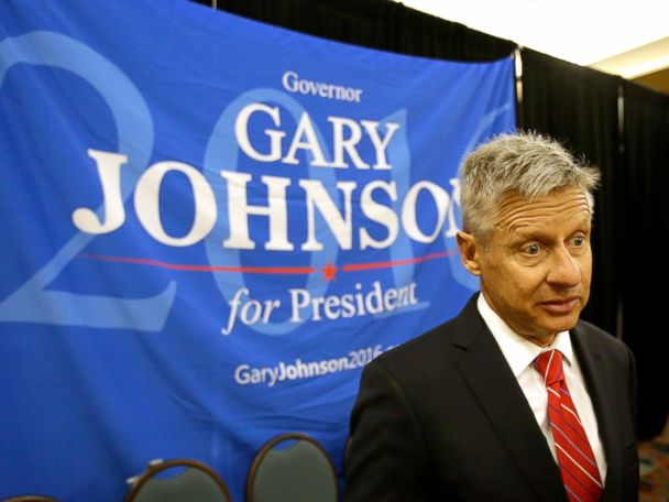 Gary Johnson's Debate Night Plans
