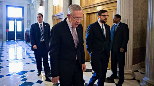 AP harry reid syria senate tk 130910 16x9 608 Senate Delays Test Vote on Syria