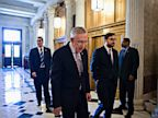 PHOTO: Senate Majority Leader Harry Reid of Nev. makes his way to the Senate floor on Capitol Hill, Sept. 6, 2013, to introduce a resolution to authorize military action to support President Barack Obamas request for a strike against Syria.