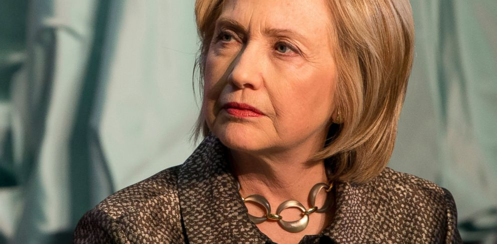 PHOTO: Democratic presidential candidate Hillary Rodham Clinton attends The Hill