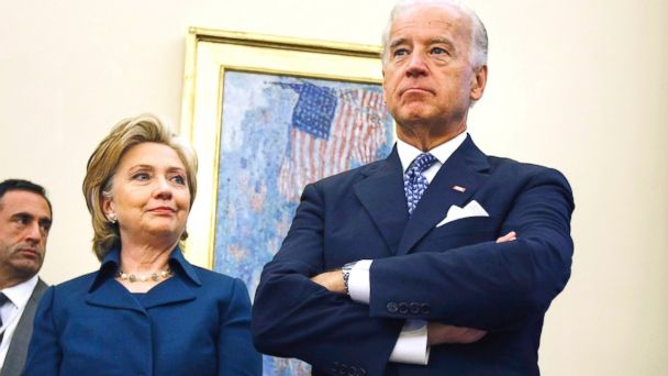 AP hillary clinton joe biden nt 131101 16x9 608 Joe Biden: Hillary Clinton Will Not Affect My Decision About 2016