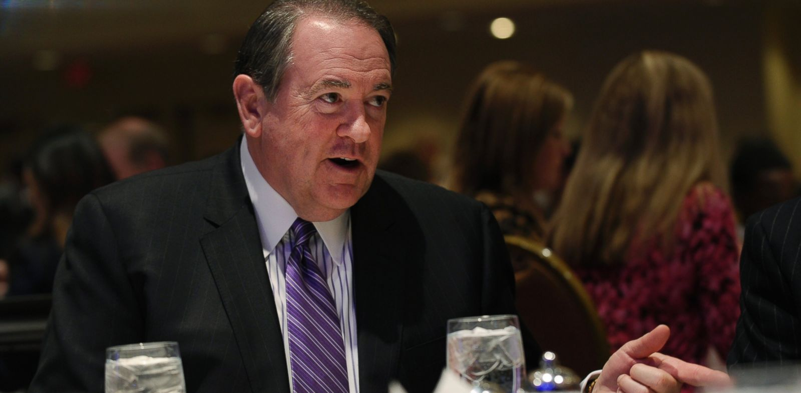 PHOTO: Former Arkansas Gov. Mike Huckabee at the Republican National Committee winter meeting