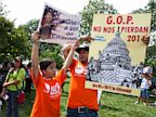 PHOTO:  rally for citizenship on Capitol Hill