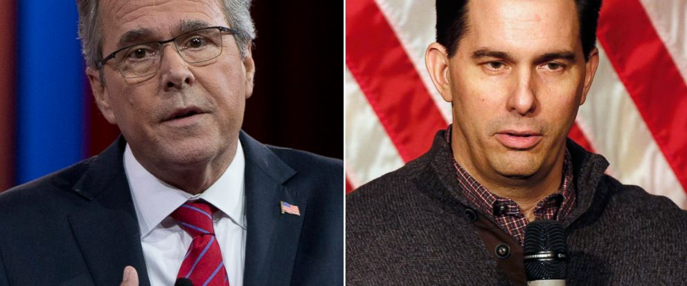 PHOTO: Jeb Bush | Scott Walker