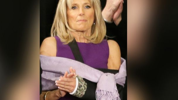 AP jill biden1 ml 140129 16x9 608 Look at the Camo Cast Jill Biden Sported at the State of the Union