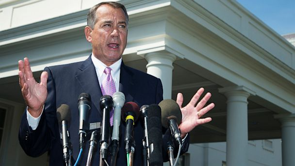AP john boehner supporting obama thg 130903 16x9 608 Boehner, Pelosi Back Obamas Call for Action Against Syria