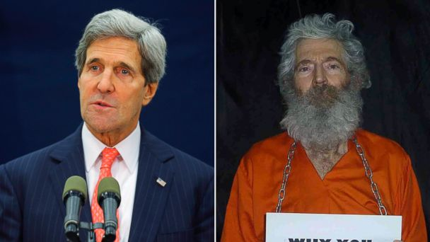 AP kerry levinson jef 131214 16x9 608 U.S. Didnt Abandon Robert Levinson, Secretary of State Kerry Says