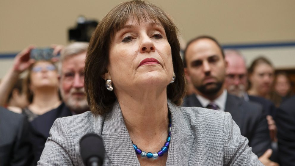 PHOTO: This May 22, 2013 file photo shows Internal Revenue Service official Lois Lerner on Capitol Hill in Washington.