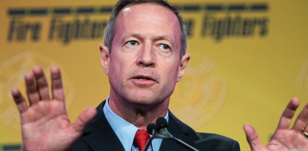 PHOTO: Martin OMalley is pictured on Capitol Hill in Washington, D.C. on March 10, 2015.