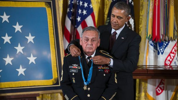 AP medal honor jose tk 140318 16x9 608 Obama Awards Medal of Honor to 24 Vets Who Suffered Bias
