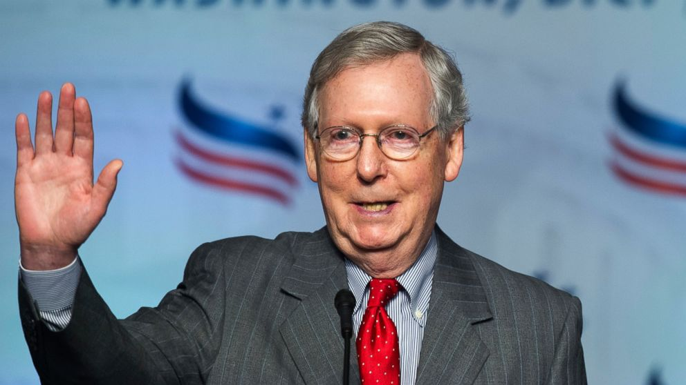 Senate Majority Leader Mitch Mcconnell Declines To Say If