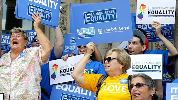 AP new jersey gay marriage nt 130927 16x9 608 New Jersey Judge Orders Legalized Gay Marriage Statewide