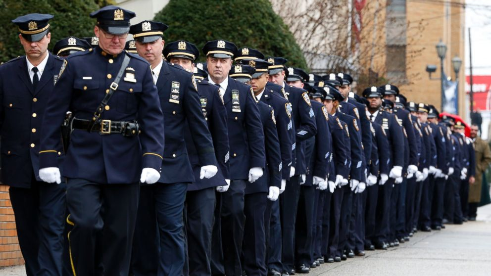 Funeral Held for Second Slain NYPD Officer - ABC News