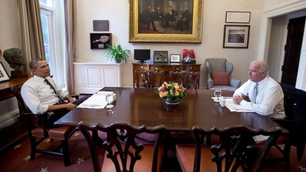 AP obama biden kab 140108 16x9 608 Obama Sits by His Man Biden After Books Scathing Critique