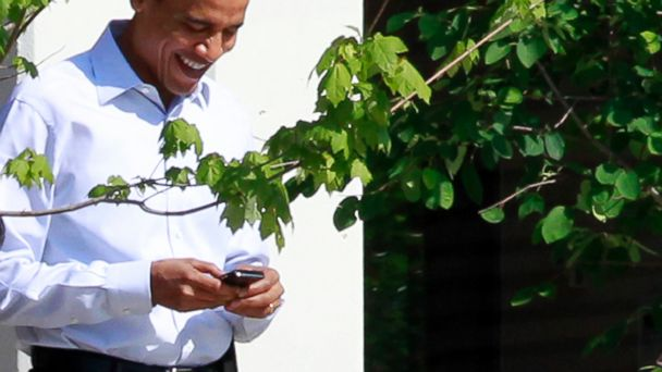 AP obama blackberry ml 140321 16x9 608 Is Obama Planning to Ditch His Blackberry?