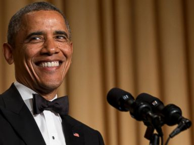 President Obama Ribs Press at 'Nerd Prom'