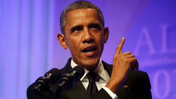 AP obama ds 130920 16x9 608 At Black Caucus Dinner, Obama Vows to Continue March on Gun Control, Healthcare