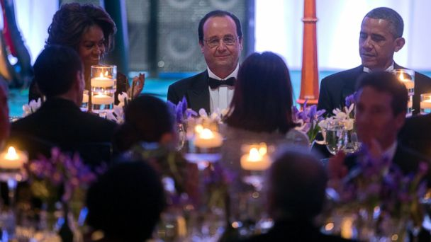 AP obama hollande state dinner jtm 140718 16x9 608 This Mouthwatering Menu Will Make You Wish You Were Invited To Tonights White House State Dinner