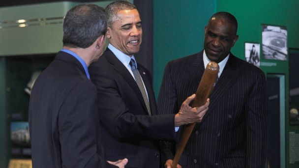 AP obama jtm 140522 16x9 608 Obamas Mom Jeans Dont Make It Into Baseball Hall of Fame