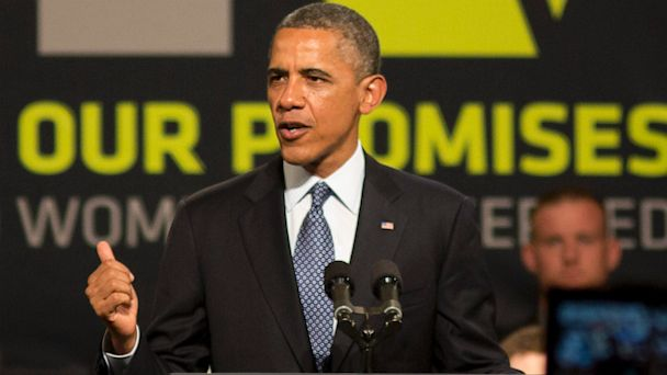 AP obama orlando lt 130810 16x9 608 Obama to Veterans: VA Backlog Is Easing