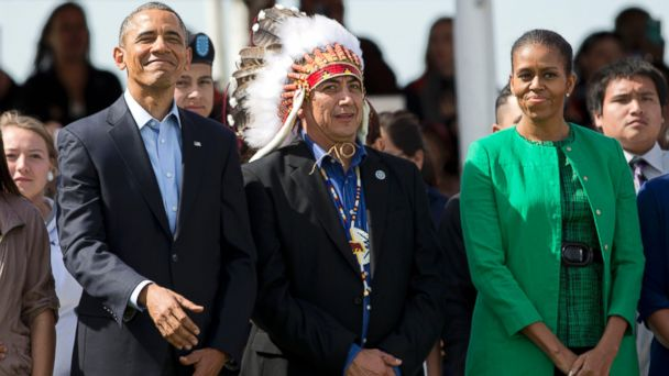 AP obama reservation jef 140613 16x9 608 Obama Brings New Promises to Native American Lands Amid Old Wounds