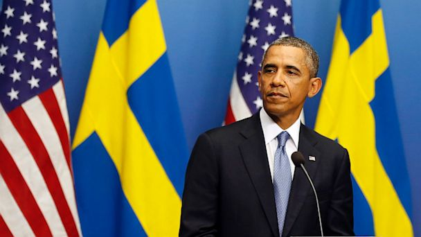 AP obama sweden jef 130904 16x9 608 Obama on Syria: My Credibility Is Not on the Line