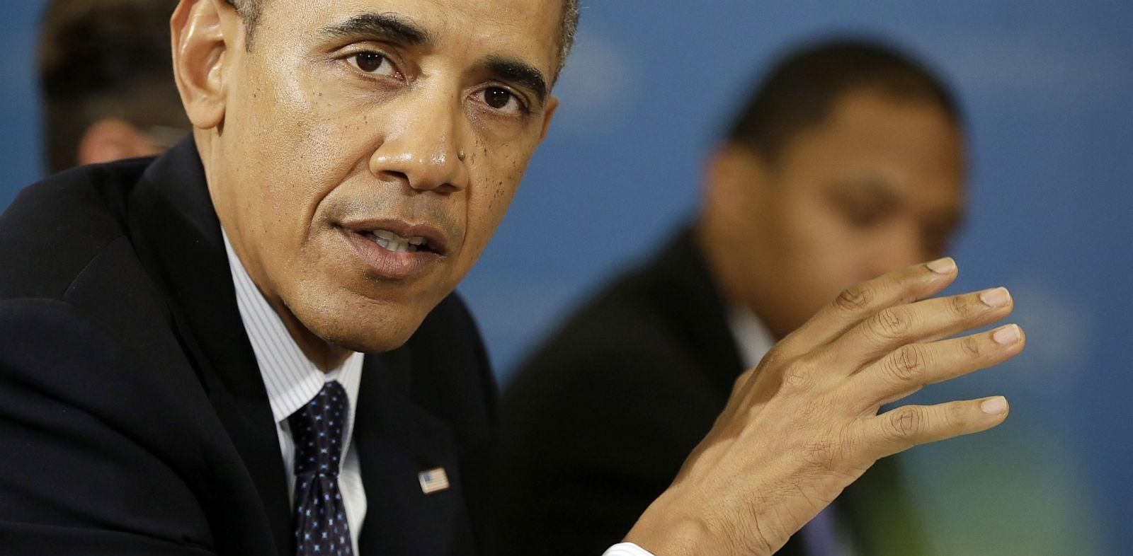 PHOTO: President Barack Obama speaks in St. Petersburg, Russia, Sept. 6, 2013.