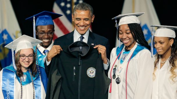 AP obama worcester tech jef 140611 16x9 608 Obama Celebrates Technical High Grads: Skills That Will Make America Stronger