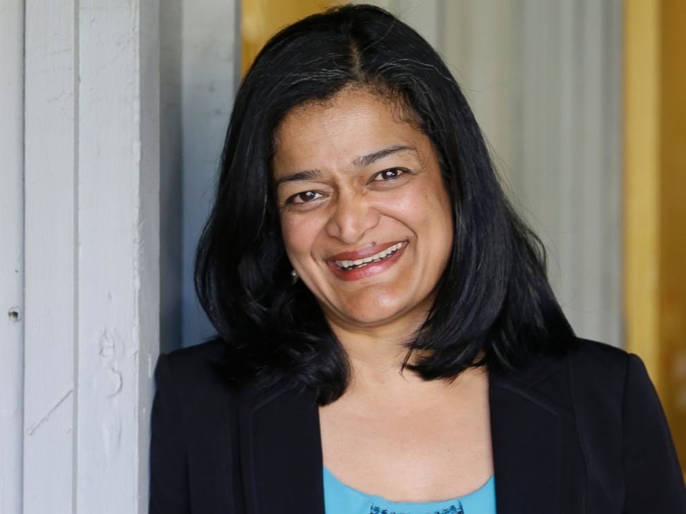 PHOTO: State Sen. Pramila Jayapal won the race for Washington 7th Congressional district, in Seattle.
