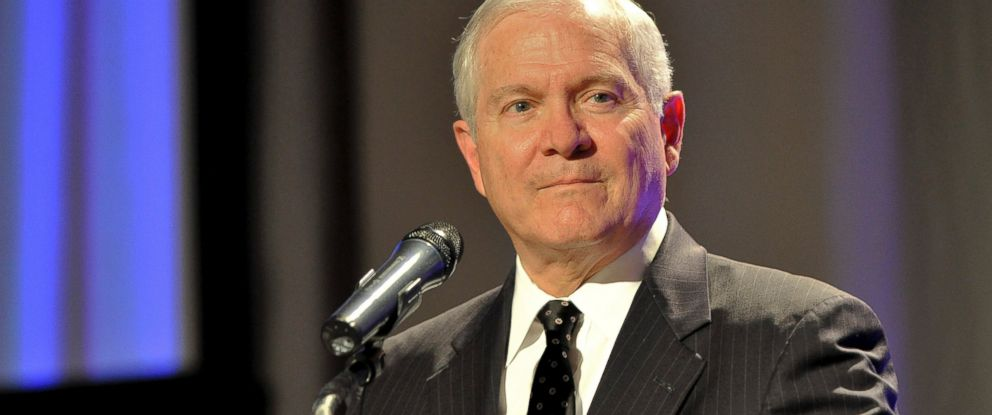 PHOTO: Dr. Robert Gates, former Secretary of Defense speaks at the Leadership Huntsville/Madison County 25th Anniversary Dinner, Oct. 11, 2012 in Huntsville, Alabama.