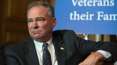 PHOTO: Sen. Tim Kaine attends a news conference, June 9, 2016.