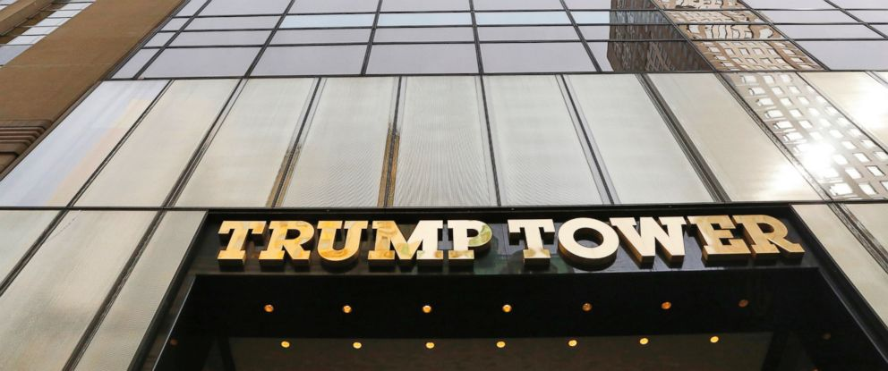 PHOTO: Trump Tower is pictured in New York, March 16, 2016.