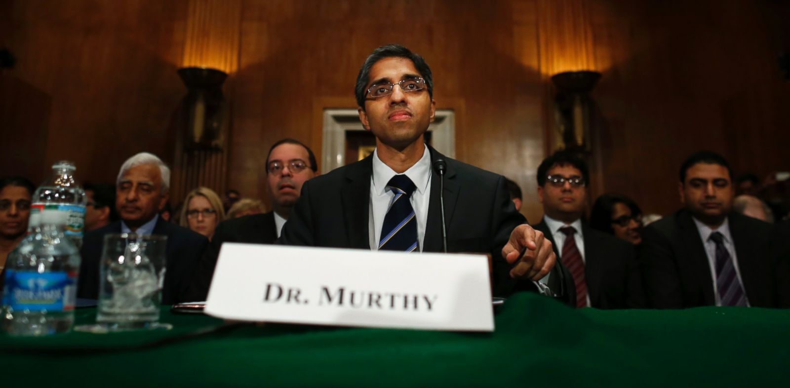 PHOTO: Dr. Vivek Hallegere Murthy, President Barack Obamas nominee for the next Surgeon General