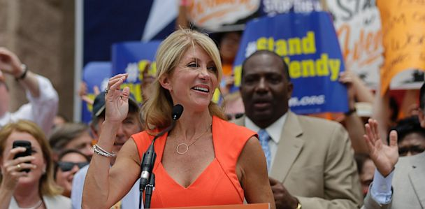 AP wendy davis lpl 130702 33x16 608 The Note: A Mess In Texas
