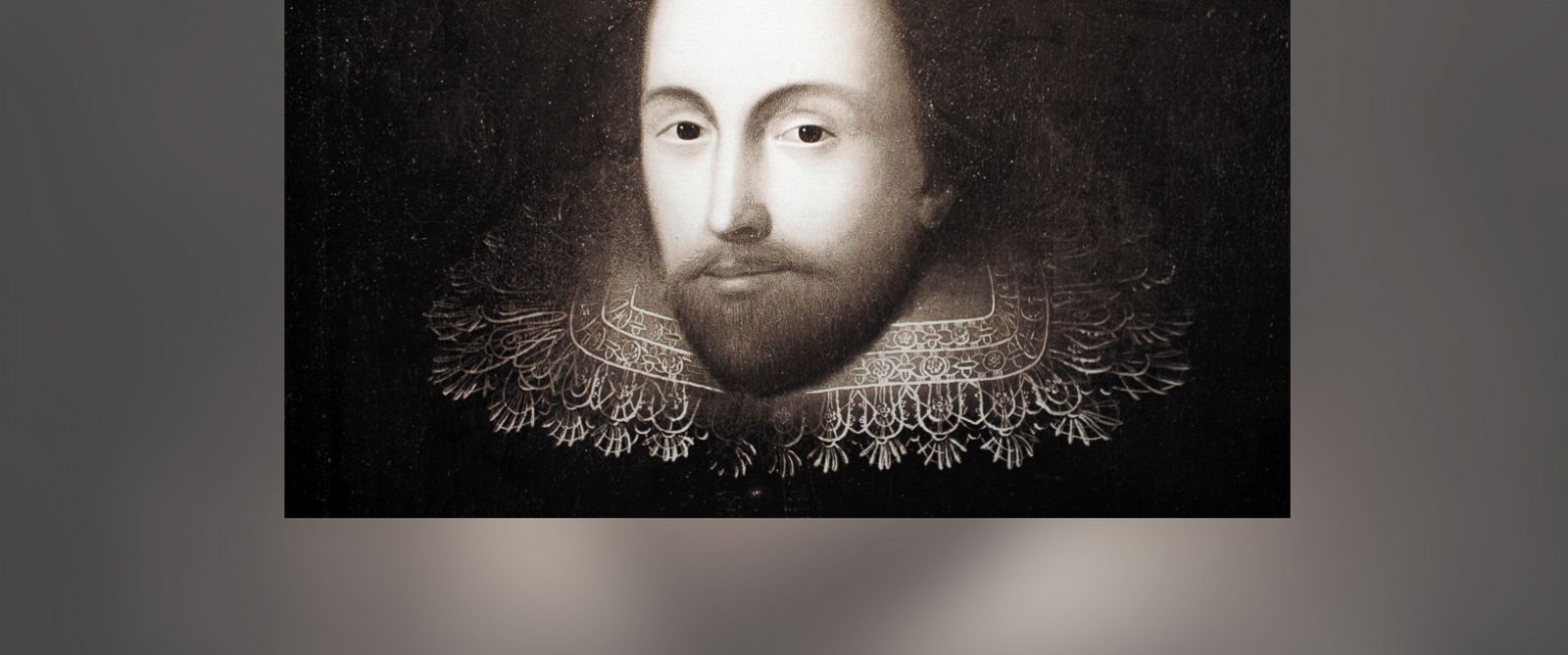 PHOTO: A previously unknown portrait of the English poet William Shakespeare is on display in Mainz, Germany, Feb. 12, 2014.