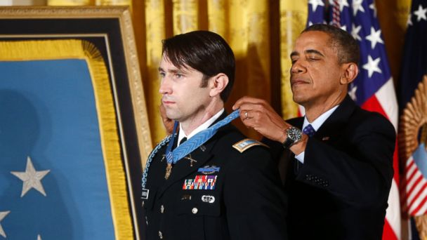 AP william swenson obama medal of honor jt 131015 16x9 608 Capt. William Swenson Receives Medal of Honor Four Years After Surviving Brutal Firefight