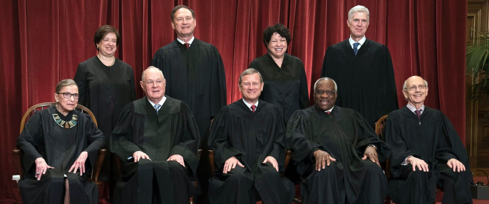 Meet the 9 sitting Supreme Court justices - ABC News