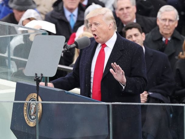 FULL TEXT: President Donald Trump's Inauguration Speech