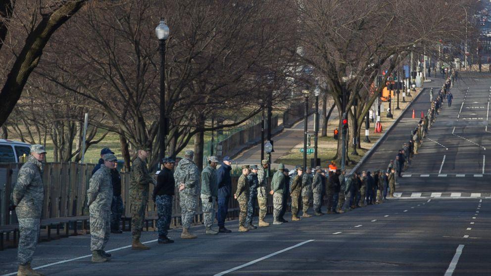 Inside the Massive Inauguration Security Effort