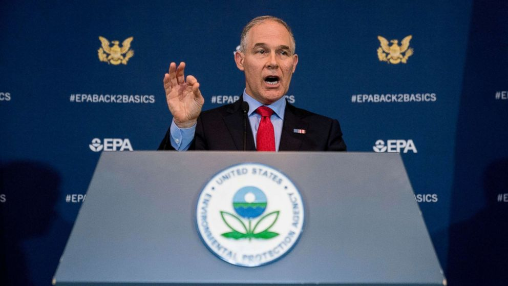 Trump expresses confidence in Pruitt despite criticism over living arrangements