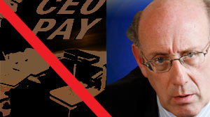 "The Obama administrations pay czar, Kenneth Feinberg, is set to announce that seven companies receiving ""exceptional"" amounts of taxpayer aid will slash the annual salaries for their 25 top executives by an average of around 90 percent from 2008 levels,"