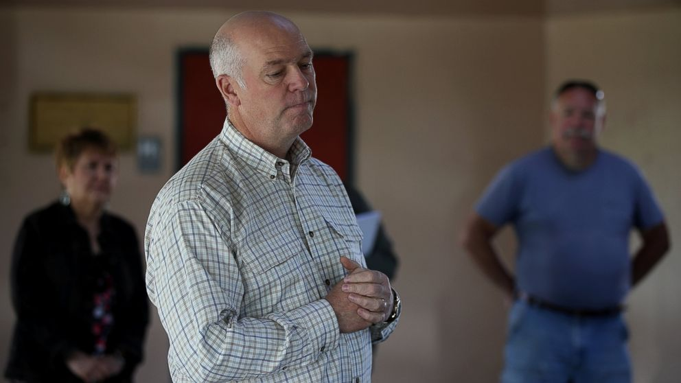 Early returns show Gianforte leading in Montana U.S. House race